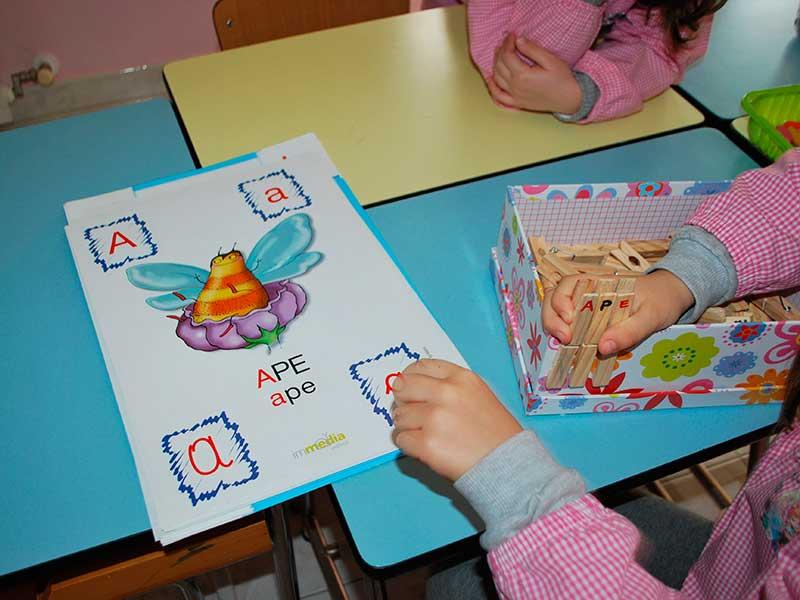 Attività scuola dell'infanzia Giuseppina Usai Sassari